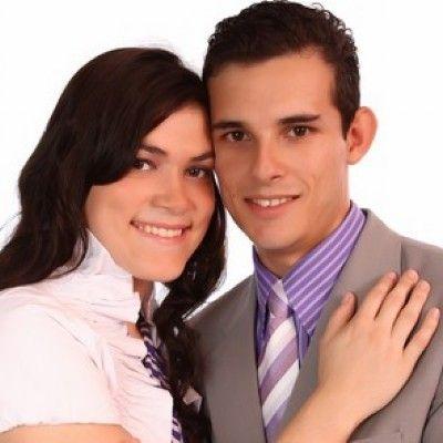 Daniel Santos e Karine